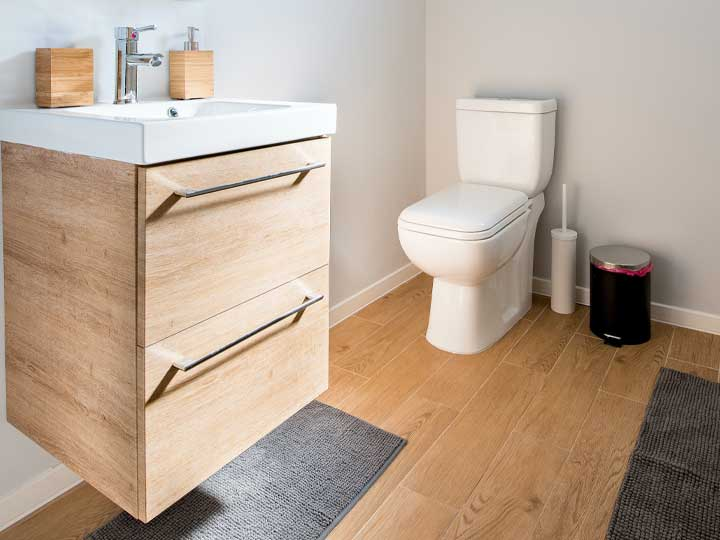 Gib deinem Badezimmer einen neuen Look ohne viel zu verbringen!